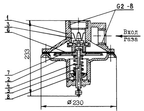 Пружина исполнительного устройства (большая) для КПЗ-50Н